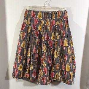 Effie's heart ModCloth autumn leaves skirt